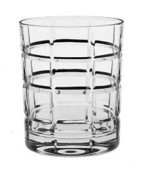 Sklenička whisky Timesquare 320 ml 6 ks