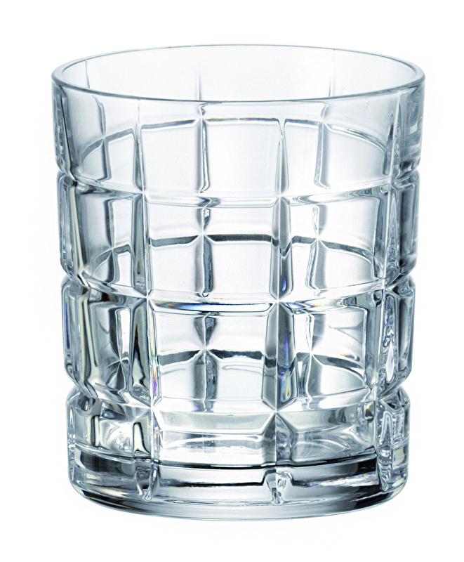 Sklenička whisky Timesquare 320 ml 6 ks - zaváděcí sleva 30%
